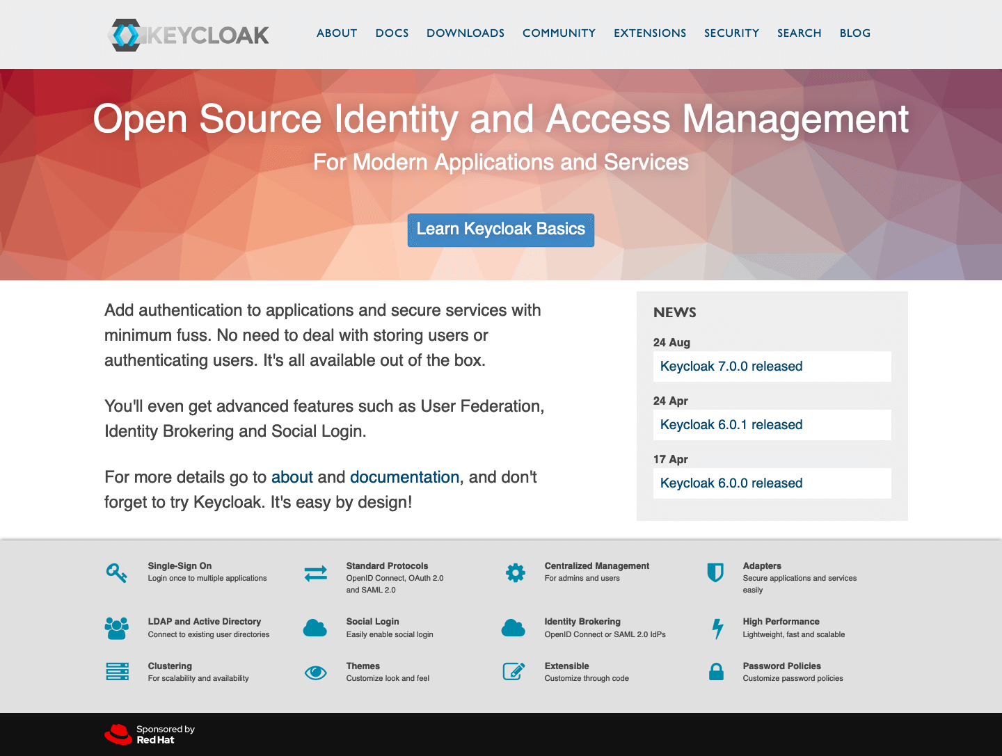Introducing Keycloak for Identity and Access Management